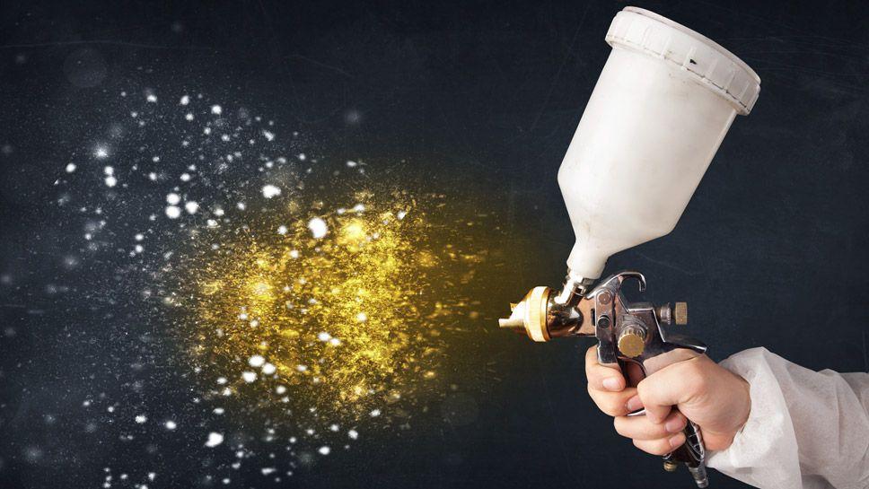Pistola en spray