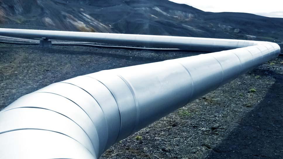 Soportes estructurales para oleoductos